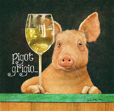 Painting - Pigot Grigio... by Will Bullas