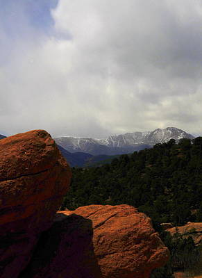 Pikes Peak Art Print by Patrick  Short