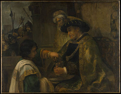 Pilate Washing His Hands Original by Style of Rembrandt