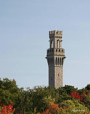 Photograph - Pilgrim Monument Provincetown Massachusetts by Michelle Wiarda-Constantine