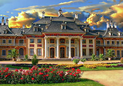 Photograph - Pillnitz Castle by Anthony Dezenzio