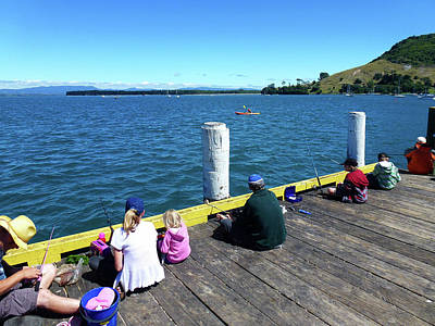 Photograph - Pilot Bay 1 - Mount Maunganui Tauranga New Zealand by Selena Boron