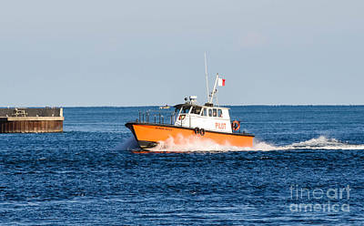 Photograph - Pilot Boat by Grace Grogan