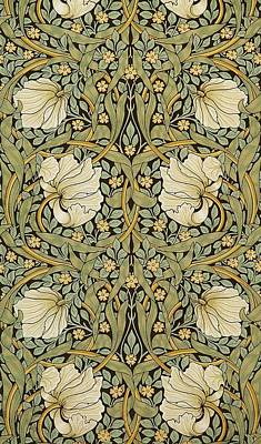 Morris Digital Art - Pimpernel by William Morris