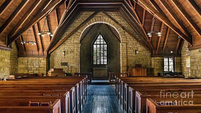 Photograph - Pine Mountain Chapel by Anthony Heflin
