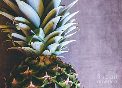 Photograph - Pineapple by Andrea Anderegg