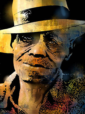 Painting - Pinetop Perkins by Paul Sachtleben