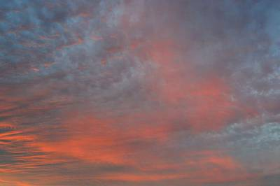 Photograph - Pink And Blue Sky  by Lyle Crump
