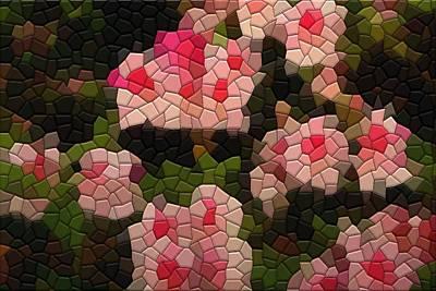 Photograph - Pink Azaleas by Kathryn Meyer