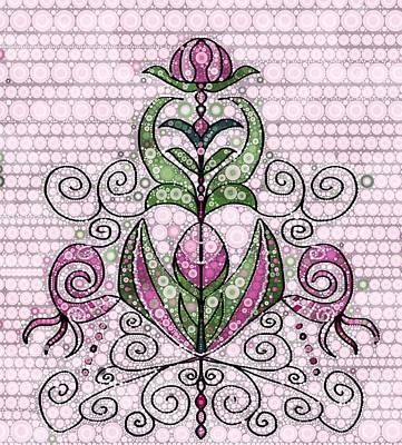 Mixed Media - Pink Beauty by Gabriella Weninger - David