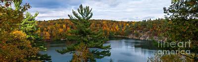 Gatineau Photograph - Pink Lake Gatineau Park by Robert McAlpine