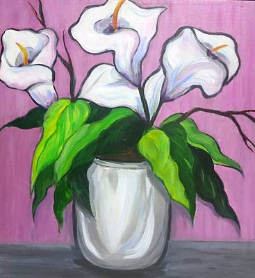 Painting - Pink Passion by Rosie Sherman