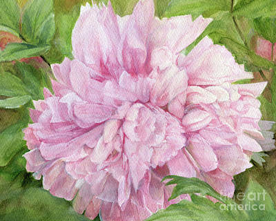 Painting - Pink Peony by Laurie Rohner