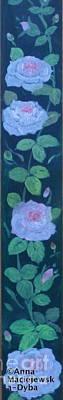 Painting - Pink Roses by Anna Folkartanna Maciejewska-Dyba