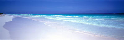 Bahama Islands Photograph - Pink Sand Beach Harbour Island Bahamas by Panoramic Images