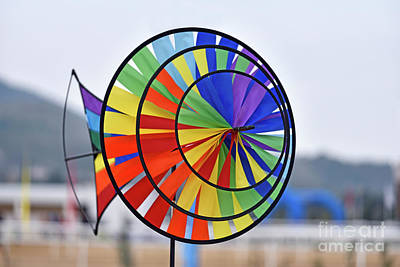 Photograph - Pinwheel by George Atsametakis