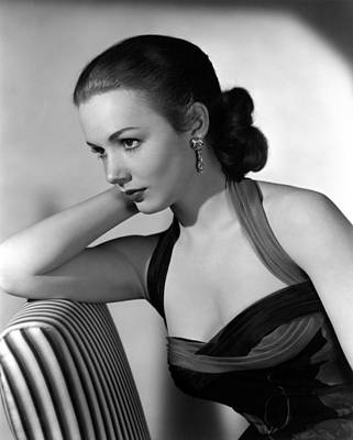 1950s Fashion Photograph - Piper Laurie, 1954 by Everett