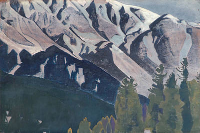 Blizzard Painting - Pir Panjal by Nicholas Roerich
