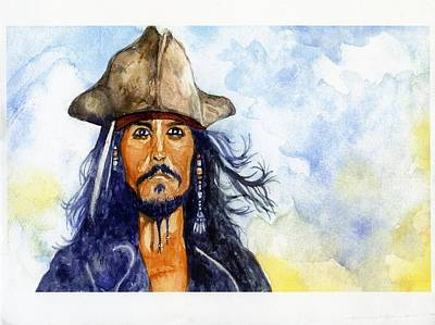 Pirates Of The Caribbean Painting - Pirates Of The Caribbean by Mark Benton