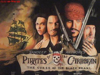 Pirates Of The Carribean Original by Sandeep Kumar Sahota