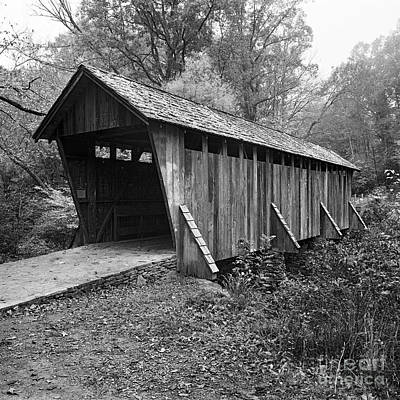 Photograph - Pisgah Covered Bridge by Patrick M Lynch