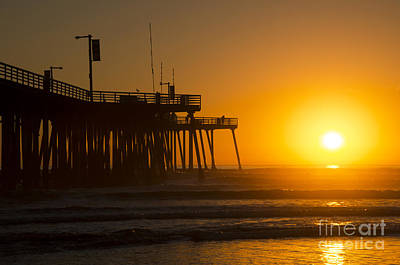 Photograph - Pismo Beach Pier California 6 by Bob Christopher