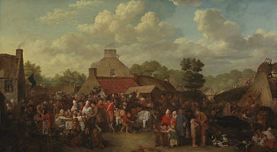 Painting - Pitlessie Fair by David Wilkie