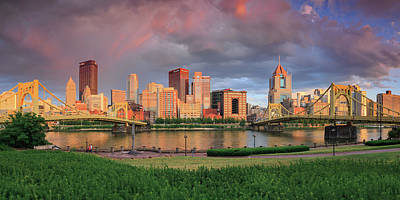 Photograph - Pittsburgh 2 by Emmanuel Panagiotakis