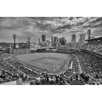 Baseball Photograph - #pittsburgh #pittsburghpirates by David Haskett