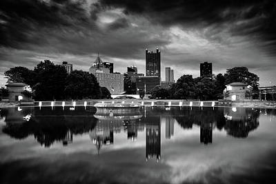 Photograph - Pittsburgh  Reflections  by Emmanuel Panagiotakis