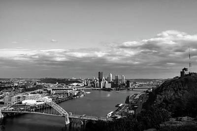 Photograph - Pittsburgh Skyline by Michelle Joseph-Long