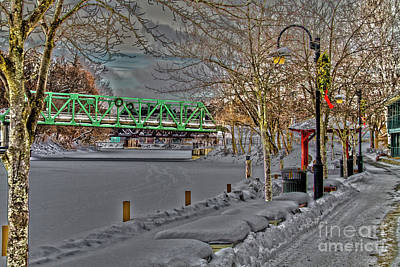 Photograph - Pittsford Bridge by William Norton