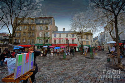Photograph - Place Du Tertre Montmartre by Jack Torcello