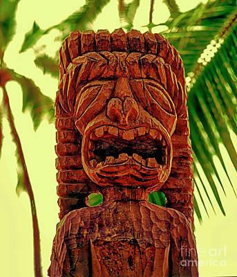 Photograph - Place Of Refuge Big Island Hawaii by Tom Jelen