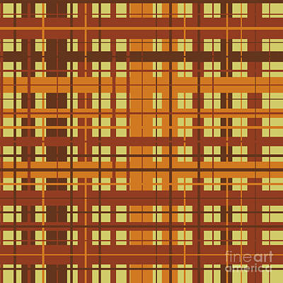 Plaid Pattern Art Print