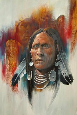 Plainsman Art Print by Robert Carver