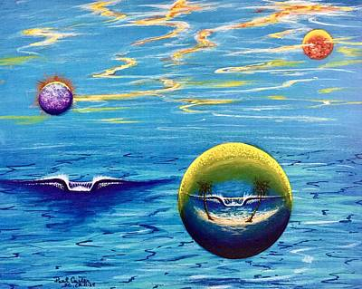 Painting - Planet Surf  by Paul Carter