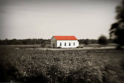 Plantation Church Print by Scott Pellegrin