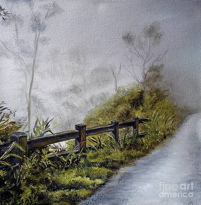 Painting - Play Misty For Me by Anna-maria Dickinson
