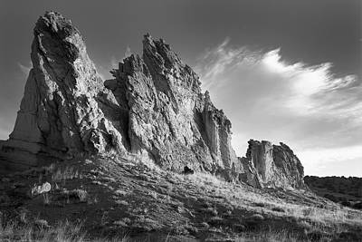 Photograph - Plaza Blanca New Mexico by Nathan Mccreery