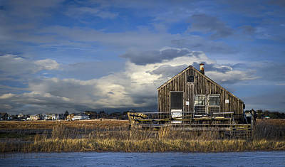 Plum Island Shack Art Print