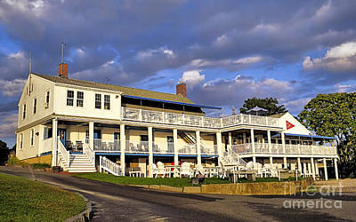 Photograph - Plymouth Yacht Club by Janice Drew