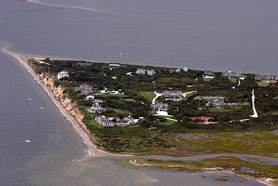 Photograph - Pocomo Point Nantucket Island by Duncan Pearson