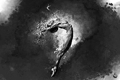Digital Art - Poetry In Motion  by Howard Barry