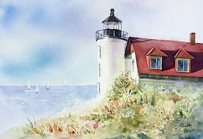 Point Betsie Art Print by Bobbi Price