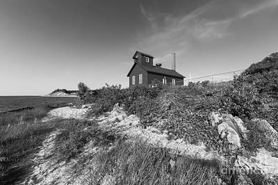 Point Betsie Life Saving Station Art Print