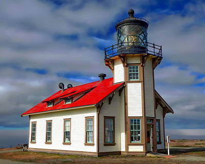 Photograph - Point Cabrillo Light by Anthony Dezenzio