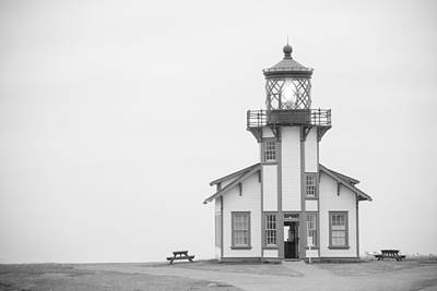 Point Cabrillo Lighthouse Print by Ralf Kaiser