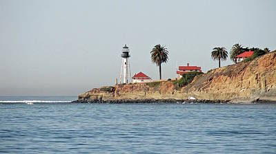 Photograph - Point Loma Lower Lighthouse by Carol Bradley