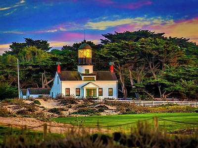 Photograph - Point Pinos Lighthouse by Garry Gay